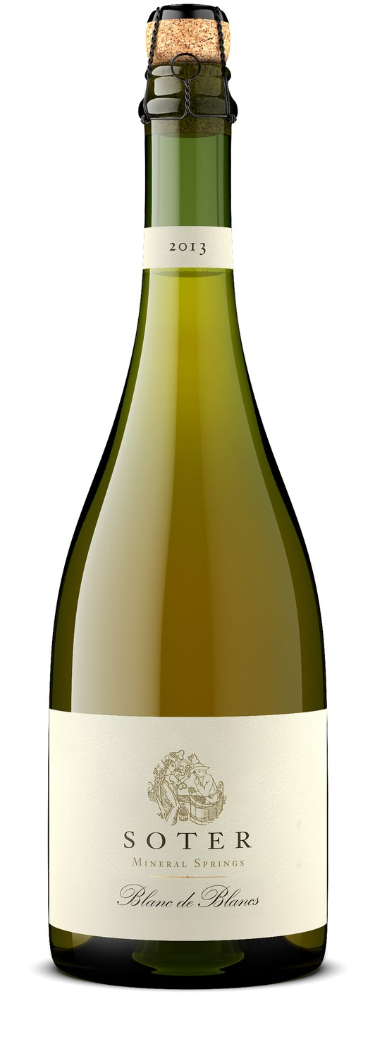 NEW! 2013 Mineral Springs Blanc de Blancs